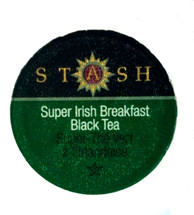 "Stash Tea Super Irish Breakfast Black Tea Single Cup . Not for the faint of heart, this tea is as bold as it gets. It packs a punch and gives you the kick you need to start your day off right! Robust and full-bodied, our Super Irish Breakfast is the ""espresso"" of teas. Try it with milk and sugar for a creamy, smoother cup. Compatible with all single serve brewers, including Keurig® not Keurig® 2.0."
