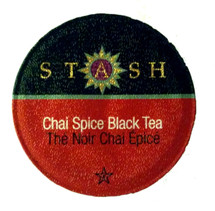 Stash Tea Chai Spice Black Tea Single Cup. Experience the aromatic, sweet, and spicy flavor of an Indian tradition brought to your cup. Allow its spices to transport your senses. This classic drink is exceptional any time of day--as a rich morning cup, an enjoyable dessert tea, or a special treat. Compatible with all single serve brewers, including Keurig® not Keurig® 2.0.
