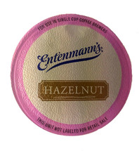 Entenmann's Hazelnut Coffee Single Cup. The perfect classic hazelnut. Compatible with all single serve brewers, including Keurig® and Keurig® 2.0.