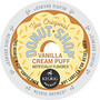 Vanilla Cream Puff Coffee K-cup® pod, you can taste the Mouth watering goodness of vanilla custard flavor with a hint of golden pastry just like the Bakery makes but in your Coffee Cup.