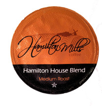 Hamilton Mills Hamilton House Blend Coffee Single Cup. Hamilton house blend is extra mellow with mild hints of caramel. Compatible with all single serve brewers, including Keurig® not Keurig® 2.0.