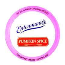 Entenmann's Pumpkin Spice Coffee Single Cup. Pumpkin, Spice, and Everything Nice. Compatible with all single serve brewers, including Keurig® and Keurig® 2.0.