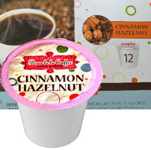 Brew la la Cinnamon Hazelnut Coffee Single Cup. Wake up in the morning with the delicious aroma of freshly brewed coffee. Cinnamon Hazelnut is smooth and nutty! Your favorite flavors combined for the perfect blend! Compatible with most single cup brewers including Keurig and Keurig 2.0.