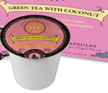 Harney & Sons Green Tea with Coconut  Single Serve