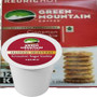 Green Mountain Cinnamon Sugar Cookie Coffee K-Cup Pod. Enjoy the sweet, comforting taste of fresh-baked holiday treats. A light roast, brimming with the aroma and flavor of warm cinnamon sugar cookies. Compatible with most single cup brewers including Keurig & Keurig 2.0.