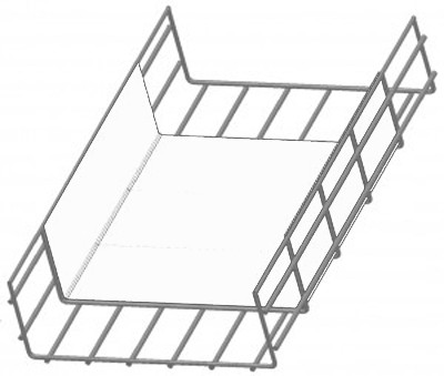 WBTFORM4X18WH Polymer Cable Tray Insert 4