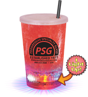 12oz Plastic Light-Up Cup