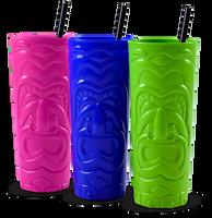 28oz Plastic Tiki Cup