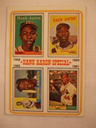 1974 Topps #3 Hank Aaron Special VGEX