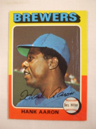 1975 Topps #660 Hank Aaron EX