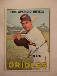 1967 Topps #60 Luis Aparicio VGEX