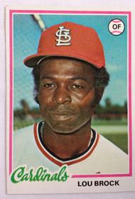 1978 Topps #170 Lou Brock EX