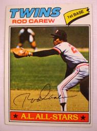 1977 Topps #120 Rod Carew VG