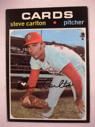 1971 Topps #55 Steve Carlton VGEX