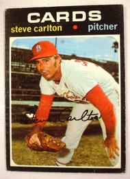 1971 Topps #55 Steve Carlton VG