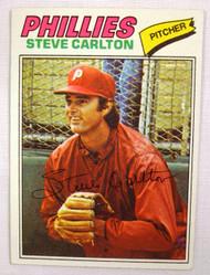 1977 Topps #110 Steve Carlton EX