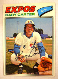 1977 Topps #295 Gary Carter EXMT