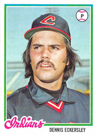1978 Topps #122 Dennis Eckersley EXMT