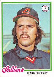 1978 Topps #122 Dennis Eckersley VGEX