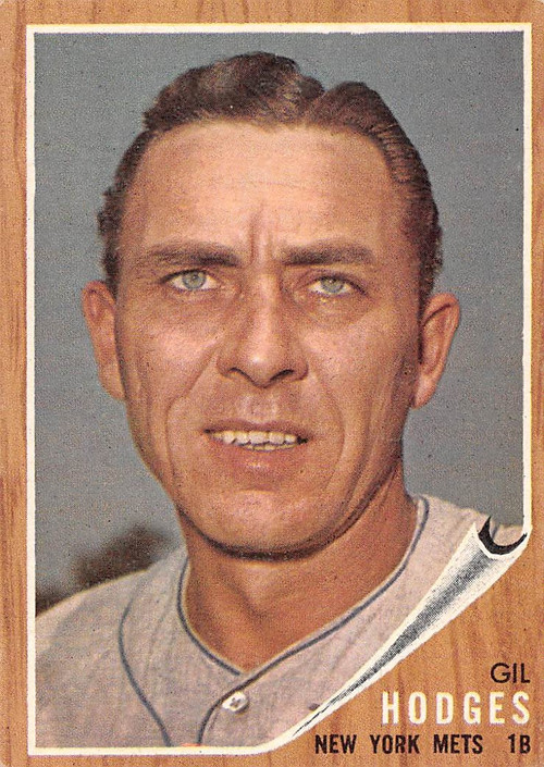 1962 Topps #85 Gil Hodges EX (62T85EX)