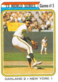 1974 Topps #472 '73 World Series Game #1 EX (74T472EX)
