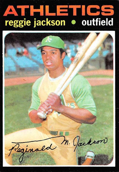 1971 Topps #20 Reggie Jackson EX (71T20EX)