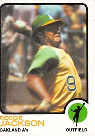 1973 Topps #255 Reggie Jackson VGEX (73T255VGEX)