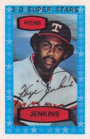 1975 Kelloggs 3D Super Stars #22 Ferguson Jenkins MINT (75K22MINT)