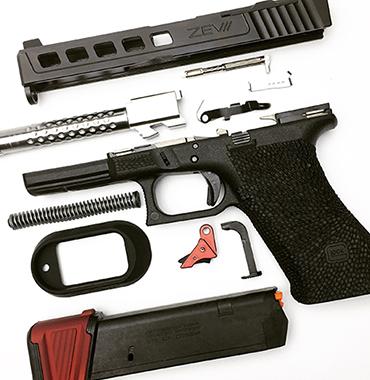Houston Cerakote, gunsmiths, gun transfers & custom firearm