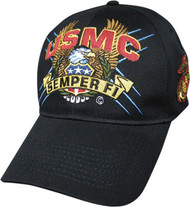 U. S. Marine Corps Military Hat Semper Fi EGA EAGLE SCREAM
