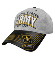 Military Heather Leather: Army Hat