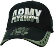 CAP-U.S. ARMY 5 STAR (BLK)