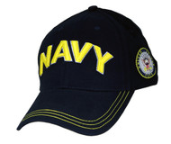 U.S. Navy Military Hat NAVY Letters & Seal
