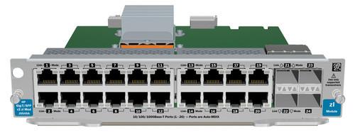 HPE J9548A-61001 20-Port 1000Base-T 2-Port Dual-SFP+ Expansion Module (3 Years Warranty)