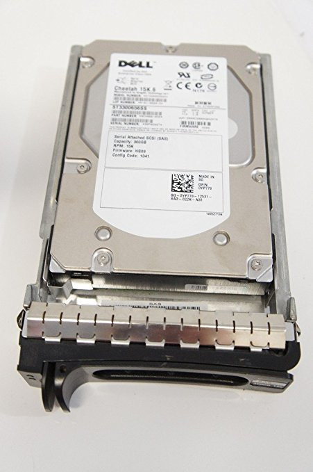 Dell 341-4461 300GB 15000RPM 3.5inch Large Form Factor(SFF) SAS-3Gbps Hot-Swap Hard Drive for Poweredge and Powervault Servers