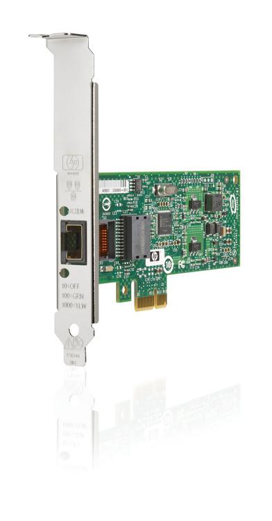 HPE NC112T 503746-B21 1Gbps Single Port PCI Express 1 x RJ-45 - 10/100/1000Base-T Gigabit Ethernet Low Profile Network Adapter