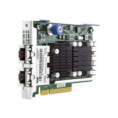 HPE FlexFabric 700759-B21 Dual Port 10Gbps Ethernet PCI Express 2.0 x8 533FLR-T Network Adapter for ProLiant Gen9 Gen10 DL and Apollo Gen10 XL Servers
