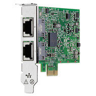 HPE 332T 615732-B21 1GBps PCI Express 2.0 X1 Plug-in card-low profile Gigabit Ethernet Network Adapter for Proliant Server (3 Years Warranty)