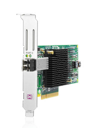 HPE 81E 489192-001 8Gb Single Port PCI Express 2.0 x4 / PCI Express x8 Fiber Channel Host Bus Adapter for Proliant Server (3 Years Warranty)