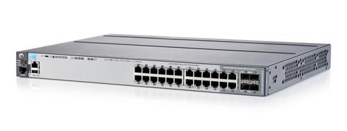 HPE Aruba J9726A 2920-24G-PoE+ 24Port 10GBASE-T 20 x 10/100/1000 + 4 x combo Gigabit SFP Gigabit Ethernet Managed Switch