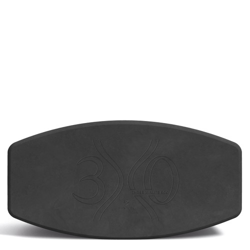 "N.Y.O.B. (Not. Your. Ordinary. Block!) by Three Minute Egg - 13"" Yoga Block - Charcoal"