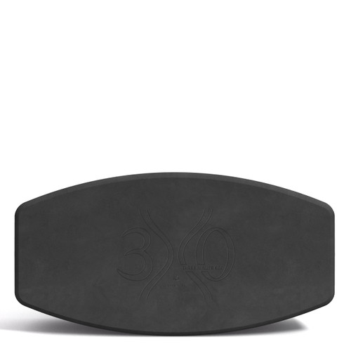 """N.Y.O.B. (Not. Your. Ordinary. Block!) by Three Minute Egg - 16"""" Yoga Block - Charcoal"""