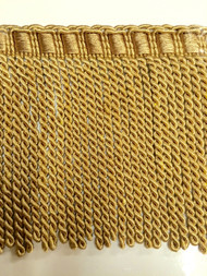 "6"" BULLION FRINGE-6/11-12        LIGHT ANTIQUE GOLD"