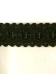"""5/8"""" GIMP HEADER-8/47       BLACK"""
