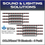 (8) Chauvet COLORband T3 BT RGB LED Linear Wash Light with built-in Bluetooth