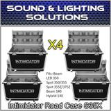 (4)  Chauvet DJ Intimidator Road Case S35X