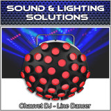 Chauvet DJ Line Dancer Compact DMX LED DJ Club Party Effect Lighting Fixture