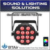 Chauvet DJ SlimPAR T12 BT (RGB) Wash Light with built-in Bluetooth (BTAir)