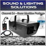 Chauvet DJ SM250 High Output Snow Machine with DMX, Remote, Fluid Package