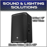 "Electro-Voice EKX-15P 15"" 2-Way 1500W Powered Speaker Monitor EKX15P"